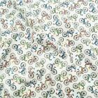 Bikes Bicycles Pedal Time 100% Cotton Fabric