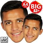ALEXIS SANCHEZ BIG A3 Size Face Mask or Life-size FC CHILE CLUB ARSENAL FOOTBALL