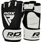 Auth RDX Gel MMA Grappling Gloves Boxing Hand Wraps Punch Bag Fight Muay Thai