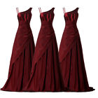 Sexy Asymmetrical Long Formal Evening Party Ball Prom Bridesmaid Maxi Dress Gown