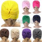 Turban Indian Style Stretchable Headwrap Cap Hat Hair Cover Chemo Bandana Hijab