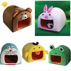 NEW soft cozy warm cute animals pet bed house dog bed cat bed