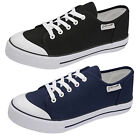 Mens Plimsoles Dunlop New Classic Canvas Plimsoll Lace Up Pumps Trainers Shoes
