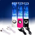 USB Audio Music LED Light Dancing Water Show Speaker For Computer Laptop 3 Color