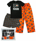 NHL Hockey Youth Philadelphia Flyers 3-piece Boxed Pajama Set - Black / Orange