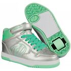 Heelys Fly 2.0 High Top Shoes - Silver Mint +Free Delivery+ DVD