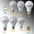 Lots Newest Non-Dimmable E27 B22 7W 9W 15W LED Globe Light Bulb Spot Lamp Cool