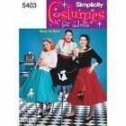 Simplicity Sewing Pattern 5403 Misses Poodle Skirt, Fancy dress costume Easy