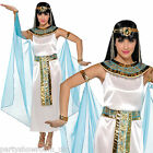 Adults Ladies Egyptian Queen Cleopatra Fancy Dress Costume - Sizes 8 - 16