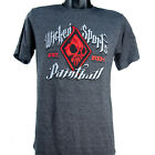 Wicked Sports Paintball T-Shirt - Vintage - Grey