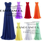 New Cocktail Prom Chiffon Elegant Evening Ball Gown Party Bridesmaid Long Dress