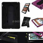 ARMOUR TOUGH SHOCK PROOF HARD STAND CASE FOR iPAD MINI & RETINA 2 COVER APPLE