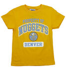 NBA Basketball Kids   Youth Denver Nuggets Property Of Nuggets Shirt - Yellow
