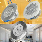 LED Ceiling light Spotlight Downlight 3W 7W 12W Recessed Warm Day White Lamp UK