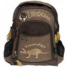 Dinosoles Dinogear Triceratops Backpack - with 3d Dinosaur design