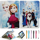 Disney Frozen Cartoon Folio Leather Case Cover for 9.7 10 10.1 inch Tablet PC
