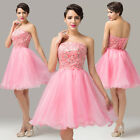 Amazing SALE Pink Women's Formal Party Evening Prom Ball Cocktail Clubwear Dress