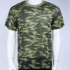 Mens' Camouflage Camo Military Army Outdoors Hunting Fishing T Shirt