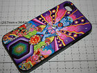 DMT magic mushroom ayahuasca trippy psychedelic art apple iphone 4 4s 5 5s case