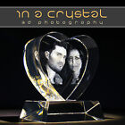 PERSONALISED 3D LASER ENGRAVED CRYSTAL // YOUR PHOTO IN CRYSTAL// PERFECT GIFT!!