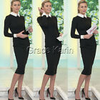 NEW Womens Office Business Formal Cocktail Evening Gown Celebrity Pencil Dress