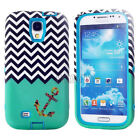 Hybrid 3-piece Combo Dual Layer TPU Matte Hard Cases Cover For Samsung Galaxy S4