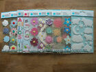 ASSORTED MARTHA STEWART STICKERS LOTS TO CHOOSE FROM ALPHA FLOWER CHRISTMAS BNIP