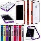 New Luxury Ultra Thin Slim Aluminum Metal Bumper Hard Case Cover For iPhone 4 4s