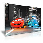 Disney Cars Movie Abstract Art Canvas Print Framed Wall Art More Sizes