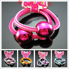 Free 2X Hot Girl Ponytail Holder Headband Rope Scrunchie shine Ball Multi Color