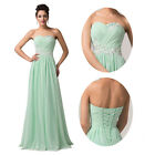 Discount Sexy Beaded Formal Wedding Bridal Cocktail Ball Gown Prom Evening Dress