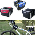 Durable Cycling Frame Pannier Mountain Bike Saddle Bicycle Front Tube Bag Hoc