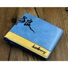 Mens Casual PU Leather Wallet Pockets Card Clutch Cente Bifold Purse--OD CA