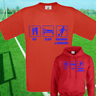 EAT, SLEEP, DAGENHAM FOOTBALL T SHIRT / HOODIE - KIDS ADULTS  TOP REDBRIDGE