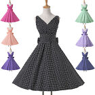 2014 SO CHEAP Rockabilly 40s 1950s Vintage Cocktail Party Swing Jive RETRO Dress