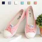 Girl's New Cute Flats Fashion Casual Lace-up Boat Canvas Womens Shoes XP0011