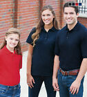 FEATHERLITE Youth Unisex Silky Smooth Pique Jersey Polo F4500 New!!