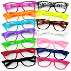 2 X Retro Vintage Fashion Nerd Geek Glasses Clear Lens Frame Fancy Dress