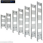 300mm Wide Designer Chrome Heated Towel Rail Radiator Ladder Straight Bathroom
