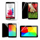 3 x HD Clear Premium Screen Guard Protector for LG G Pad Tablet LG G3 Smartphone
