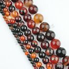 Natural Dream Agate Gemstone Round Loose Spacer Beads 16'' Strand 4 6 8 10 12 mm