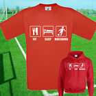 EAT, SLEEP, MIDDLESBROUGH FOOTBALL T SHIRT / HOODIE - KIDS ADULTS  TOP