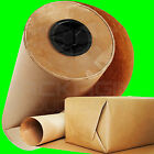 STRONG BROWN KRAFT WRAPPING PARCEL PAPER FREE P&P