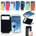Magnetic Smart Flip Slim VIEW Case Hard Cover For Samsung GALAXY S4 SIV I9500
