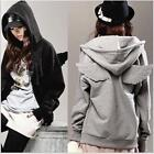 Fashion Charmant Type fille Sweats Women Wings Hoodie Jacket Coat tops Outerwear