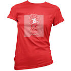 Unknown Pleasures Of Snowboarding - Womens / Ladies T-Shirt - Snowboard