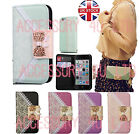 Lace Print Bow PU Leather Wallet Case Cover For Samsung Galaxy S4/S5/Note+Screen