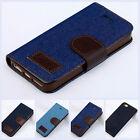 Luxury PU Leather Floral Print Wallet Stand Filp Cover Case Fr iPhone 5 5G 5S