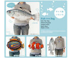 2014 JAPAN FIIIIISH FISH PRINT CROSS-BODY BAG FASHION - 13 DIFFERENT FISH TYPES