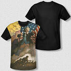 New United States Army Vintage 1775 Poster All Over Black Back Youth T-shirt Top